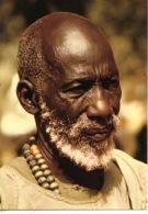 Afrique : Tchad - vieillard � Delagoum (Guera) Les Hommes du Sahel n�10 photo Gabin