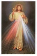JESUS MISERICORDIEUX DE SOEUR FAUSTINE.CPM - Jésus
