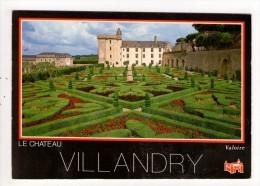 CP 10*15 CM/MM598/VILLANDRY LE CHATEAU ET LES JARDINS    1992 - France