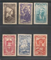 N° 593 à 598 Neuf ** - Unused Stamps