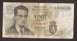 België Belgique Belgium 15 06 1964 20 Francs Atomium Baudouin. 2 X 3346175 - [ 6] Treasury