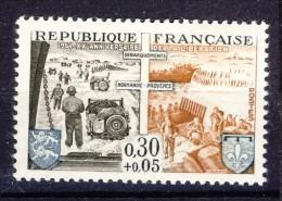 A VOIR !!!  N°1409 ** De 1964  SCAN CONTRACTUEL RECTO VERSO - Unused Stamps