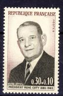 A VOIR !!!  N°1412 ** De 1964  SCAN CONTRACTUEL RECTO VERSO - Unused Stamps