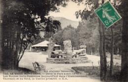 Cpa 1915  LE VIEUX MONT DORE, Ruines Gallo-romaines Et Casino Primitif   (35.72) - Le Mont Dore