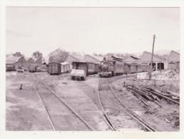 CHEMINS DE FER - TRAINS - CPM - VUE GENERALE DU DEPOT DE HUELIN - 10.03.1962 - CPM ANIMEE - Trains