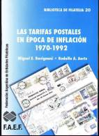 ARGENTINA - POSTAL RATES DURING INFLATION (1970 To 1992) - Tarifa De Correos