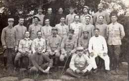 BENGY-SUR-CRAON CARTE PHOTO DE 26/07 AU 26/08 1916 PROMOTION BROUSSILOFF COURS DE PERFECTIONNEMENT DE L'ARTILLERIE RARE - Non Classés
