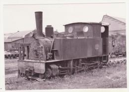 CHEMINS DE FER - TRAINS - CPM - LOCOMOTIVE N° 29 A HUELIN-DEPOT (030t,HOHENZOLLERN 1887) - 20.04.1961 - - Trains