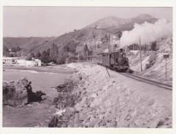 CHEMINS DE FER - TRAINS - CPM - TRAIN POUR VELEZ PRES DE MALAGA-EL PALO - 09.01.1962 - - Trains