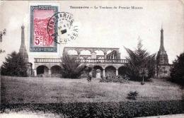 TANANARIVE Madagaskar - Le Tombeau Du Premier Ministre, Sondermarke Und Stempel 1920 - Madagaskar