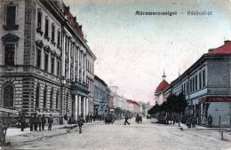 Rumänien MARAMAROSSZIGET - Rakoczi Ut, Strassenansicht, Gelaufen Als Feldpost - Rumänien