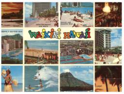 (215) USA - Hawaii Waikiki Beach - Big Island Of Hawaii
