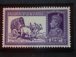 1937 King GV1 Sg 252  2annas 6ps  Mint - India (...-1947)