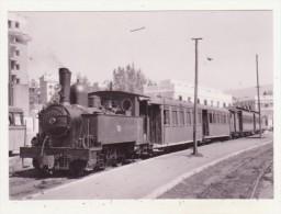 CHEMINS DE FER - TRAINS - CPM - MALAGA-SUBURBANOS, TRAIN D'OUVRIERS POUR HUELIN - 12.04.1960 - - Trains