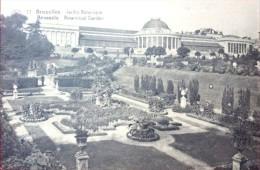 Vintage Postcard ~ Belgium Brussels  (Bruxelles) Botannical Garden - Squares