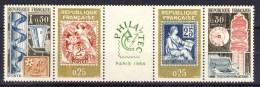 A VOIR !!! BANDE N°1417A ** De 1964  SCAN CONTRACTUEL RECTO VERSO - Unused Stamps
