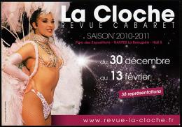 B2-11G- Carte Pub. Pour Une Revue De Cabaret - France