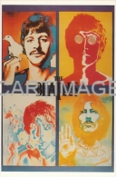 BEATLES  Carte Postale N°  X339   Paul McCARTNEY John LENNON  Ringo STARR  George HARRISON - Musique Et Musiciens