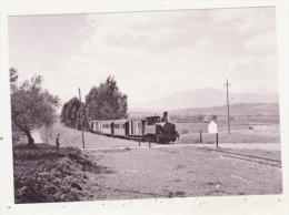 CHEMINS DE FER - TRAINS - CPM - TRAIN-MIXTE POUR COIN PRES D'ALHAURIN EL GRANDE - 16.04.1961 - CPM ANIMEE - Trains