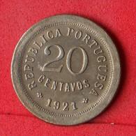 PORTUGAL  20  CENTAVOS  1921   KM# 571  -    (Nº07063) - Portugal