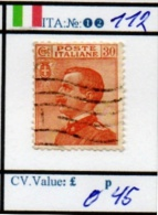 ITALY:KINGDOM#  CLASSIC DEFINITIVES (ITA 260-5 (12) - 1900-44 Vittorio Emanuele III