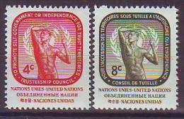 UNITED NATIONS New York 80-81,unused - New York -  VN Hauptquartier