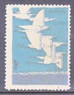 ITALY  AAMC 1125   VIGNETTE  AEROPHILATELIC    CROISIERE  DANS  LA MEDITERRANEE  ORIENTALE 1929  * - 1900-44 Vittorio Emanuele III