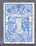 ITALY   VIGNETTE  LEGA  NAZIONALE   (o) - 1900-44 Vittorio Emanuele III