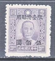 Taiwan  84   * - 1888 Provincia China
