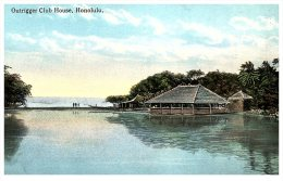 2166 HI Honolulu    Outrigger Club House - Honolulu