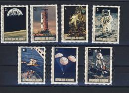 GUINEE 1980 ESPACE   Scott N°807/14 OBLITERES - Space