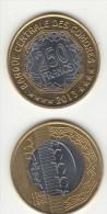 NEW COMORES ,2 X.bimetal= 250 Fc =2013 ,,RARE - Comores