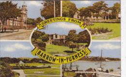 BARRW IN FURNESS MULTI VIEW - Cumberland/ Westmorland