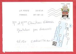 N°Y&T 4585 BREUIL MAGNE    Vers  CHALETTE Le  06 JUIN 2012 - France