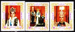 Iran 1268 / 70 Anniversaire Du Couronnement - Iran