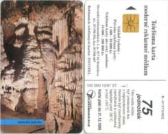 Telefonkarte Slowakei - Höhle,cave,grotte - Jasovska Jaskyna - Aufl. 100000 - 12/97 - Slowakei