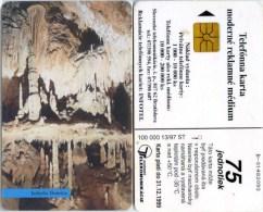 Telefonkarte Slowakei - Höhle,cave,grotte - Jaskyna Domica - Aufl. 100000 - 13/97 - Slowakei