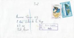 Mauritius Maurice 1998 Plaine Magnien Estuary Rock Geology Registered Domestic Cover - Mauritius (1968-...)
