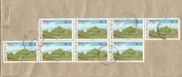 Mauritius Maurice 2004 Petite Riviere Mountain Le Pouce Landscape Geology Cover - Mauritius (1968-...)