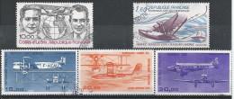 France Poste Aérienne N°55 à 59 Obl. - Airmail