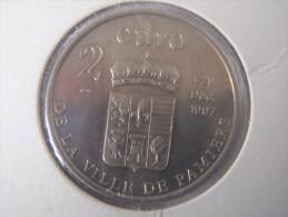 2 Euro  De La Ville De PAMIERS 09 - Euros Des Villes