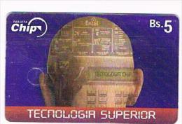 BOLIVIA - ENTEL (CHIP) -  2001  TECNOLOGIA SUPERIOR EXP. 12. 2002  - USED  -  RIF. 7987 - Bolivia