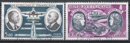 France Poste Aérienne N°46-47 Obl. - Airmail