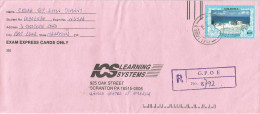 Mauritius Maurice 1995 Port Louis GPO E Seawaves Enviroment Protection Registered Cover - Mauritius (1968-...)