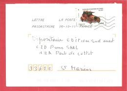 N°Y&T 4589 ST ANDRE DE CUBZAC    Vers  ST MARIENS Le  05 OCTOBRE 2011 - France