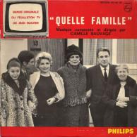 45T - Quelle Famille - B.O. Feuilleton T.V.  ORTF De Jean Nocher - Musique De Films