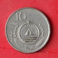 CAPE VERDE  10  ESCUDO  1994   KM# 29  -    (Nº07097) - Cap Vert