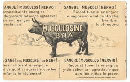 Publicité   BYLA      Sang De Taureaux - Stiere