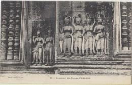 Cpa Cambodge  Ruines D Angkor - Kambodscha