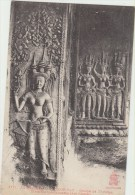 Cpa Cambodge  Groupe De Tevadas Divinites Bienfaisantes (art Khmer) - Kambodscha